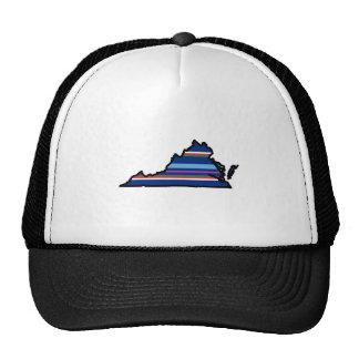 Virginia State Hat - Stripes
