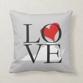 Virginia State Love Pillow