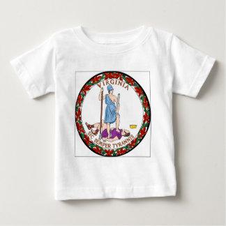 Virginia State Seal Baby T-Shirt