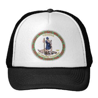 Virginia State Seal Trucker Hat