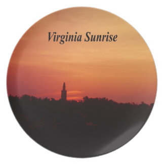 Virginia Sunrise Plate