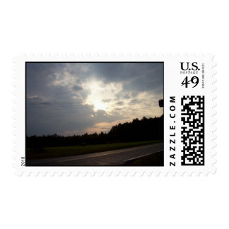 virginia sunset by gbillips stamp