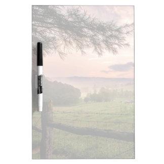 Virginia Sunset Dry-Erase Board