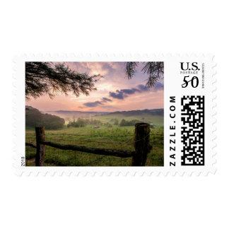 Virginia Sunset Postage