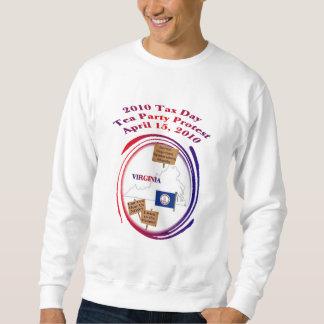 Virginia Tax Day Tea Party Protest Sweatshirt