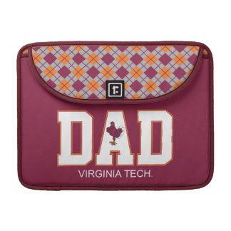 Virginia Tech Dad Sleeve For MacBooks