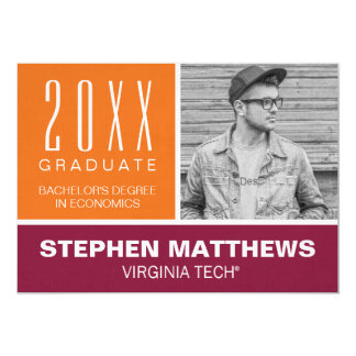 Virginia Tech Graduation Announcement