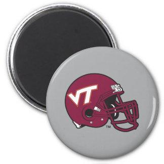 Virginia Tech Helmet Magnet