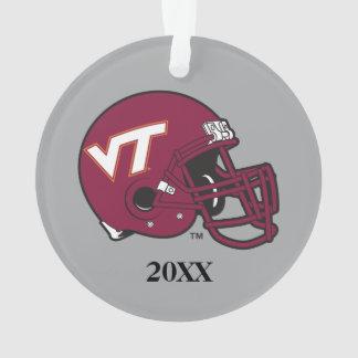 Virginia Tech Helmet Ornament