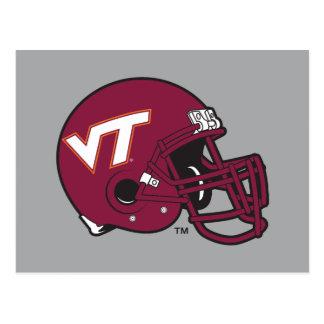 Virginia Tech Helmet Postcard