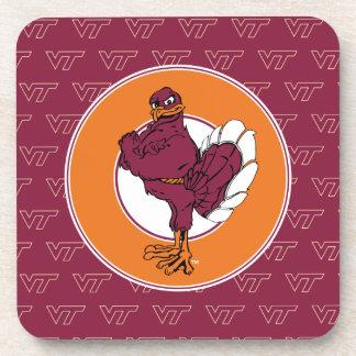 Virginia Tech Hokie Bird Coaster