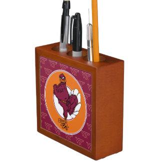 Virginia Tech Hokie Bird Pencil/Pen Holder