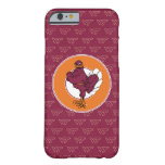 Virginia Tech Hokie with Orange Circle Barely There iPhone 6 Case