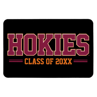 Virginia Tech Hokies Class Year Magnet