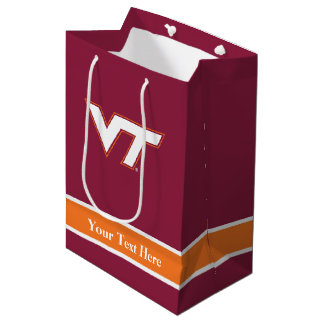 Virginia Tech Medium Gift Bag
