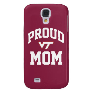 Virginia Tech Proud Mom Samsung S4 Case