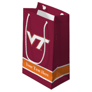 Virginia Tech Small Gift Bag