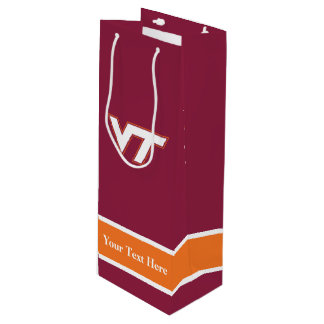 Virginia Tech Wine Gift Bag