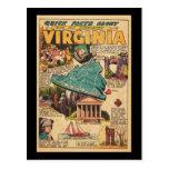 Virginia the Old Dominion Postcard