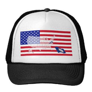 Virginia, USA Trucker Hat