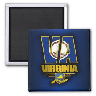 Virginia (VA) 2 Inch Square Magnet