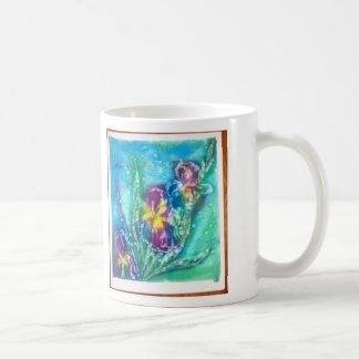 Virginia_Waltz_Iris__Batik Coffee Mug