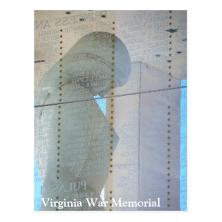 Virginia War Memorial Postcard - Richmond, Virgini
