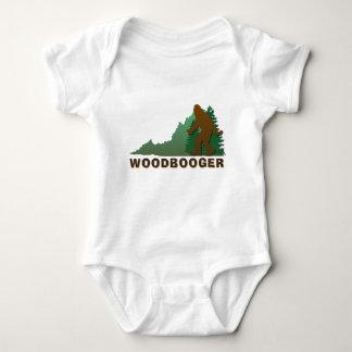 Virginia Woodbooger Baby Bodysuit