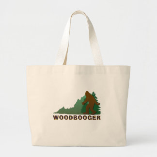 Virginia Woodbooger Large Tote Bag