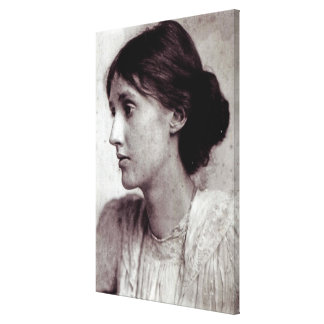 Virginia Woolf, 1902 Canvas Print