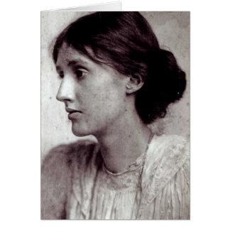 Virginia Woolf, 1902 Card