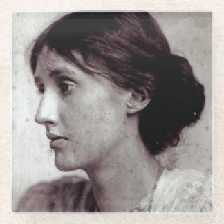 Virginia Woolf, 1902 Glass Coaster