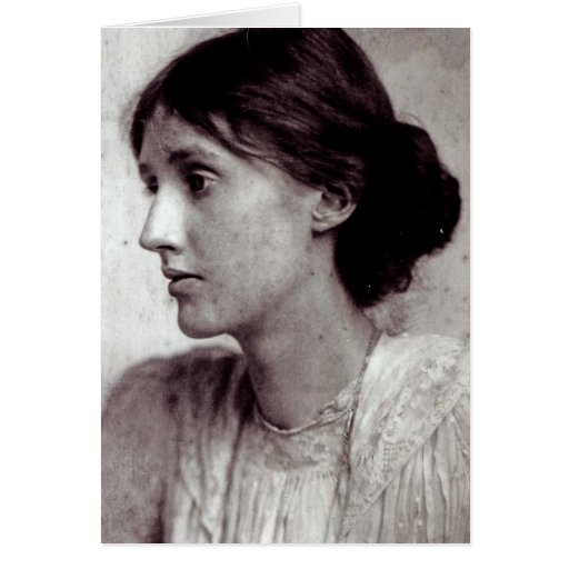 Virginia Woolf, 1902 Greeting Card