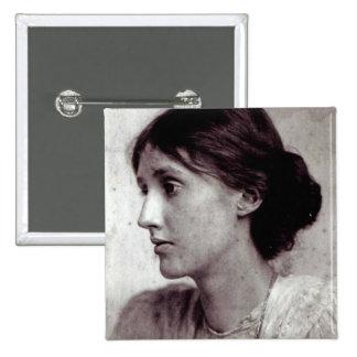 Virginia Woolf, 1902 Pinback Button