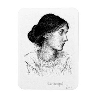 Virginia Woolf 2004 Drawing!!! Magnet