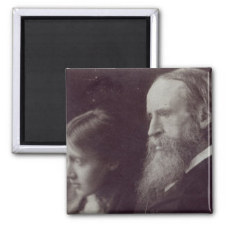 Virginia Woolf and her father Sir Leslie Magnet