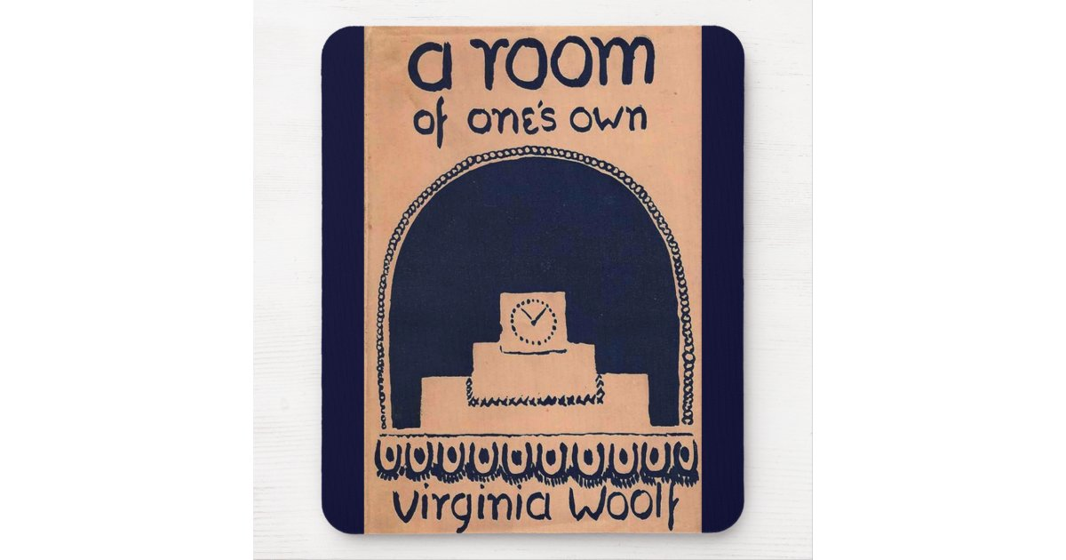 Virginia Woolf Book Cover A Room Of One S Own Mouse Pad