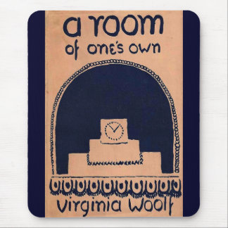 Virginia Woolf  Book Cover A Room of One's Own Mouse Pad