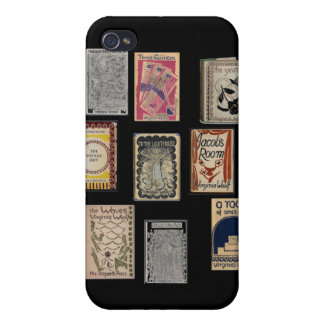 Virginia Woolf Books iPhone 4 Cases