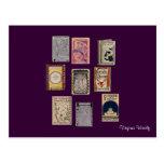 Virginia Woolf Books Postcard