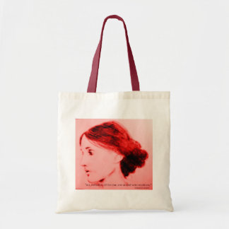Virginia Woolf  extremes of feeling Budget Tote Bag