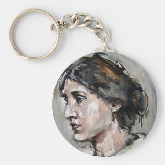 Virginia Woolf Keychain