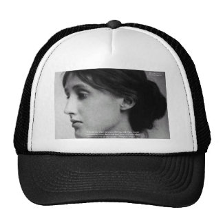 "Virginia Woolf ""Love Autumn"" Love Quote Gifts Trucker Hat"