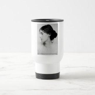 "Virginia Woolf ""Love Well"" Love Quote Mugs & Gifts Mug"