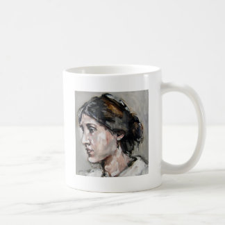 Virginia Woolf Classic White Coffee Mug