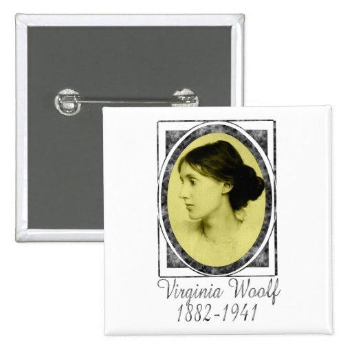 Virginia Woolf Pin