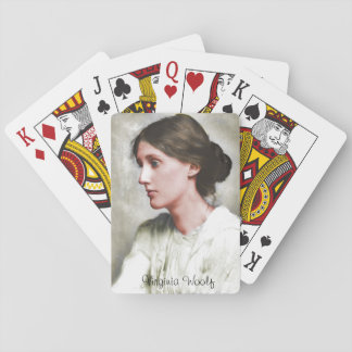 Virginia Woolf Playing Cards