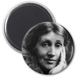 Virginia Woolf Portrait Magnet