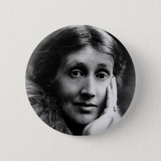 Virginia Woolf Portrait Pinback Button