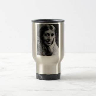 Virginia Woolf Portrait Travel Mug